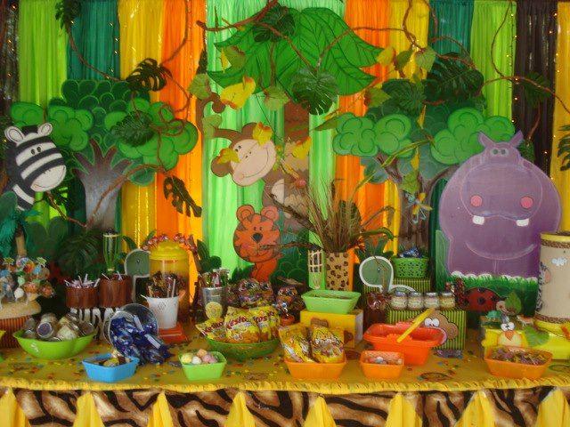 Castillos Eventos... de Ursula Newman: Animales de la selva ...