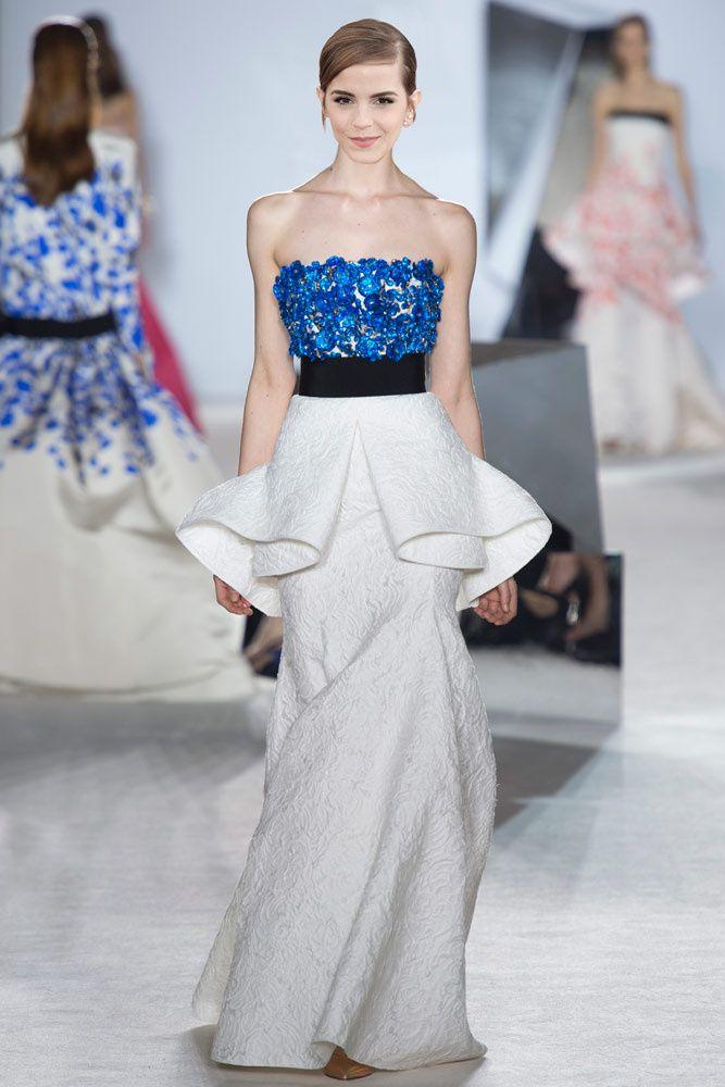 Vestidos de Oscar: predicciones Glamour para la red carpet Emma Watson en Giambattista Valli.