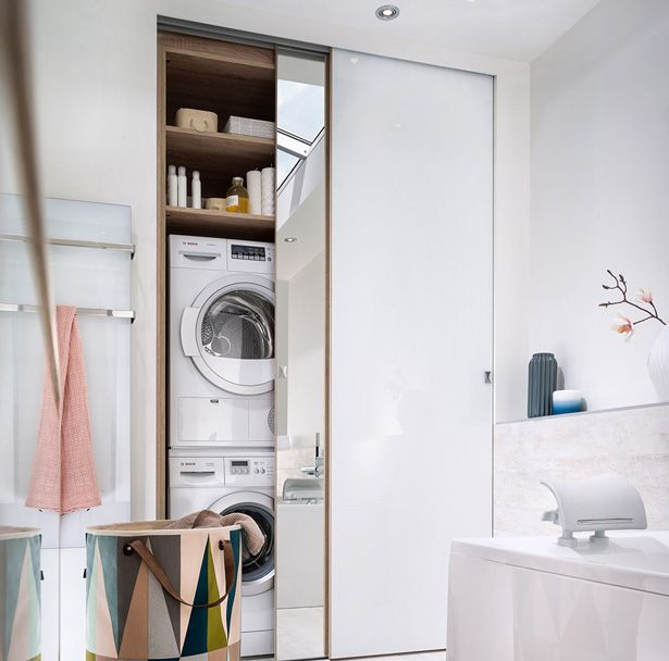 Nascondere La Lavatrice Dentro Casa 20 Idee Originali Cose Da