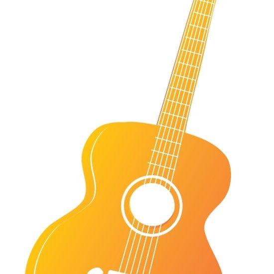 Acoustic Guitar Silhouette 2 By Annartshock Guitar Acoustic Guitar Acoustic