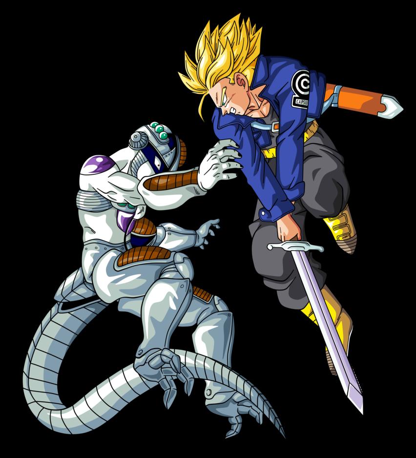 Trunks Vs Mecha Freezer Dragon Ball Dragon Ball Z Dragon Ball Super