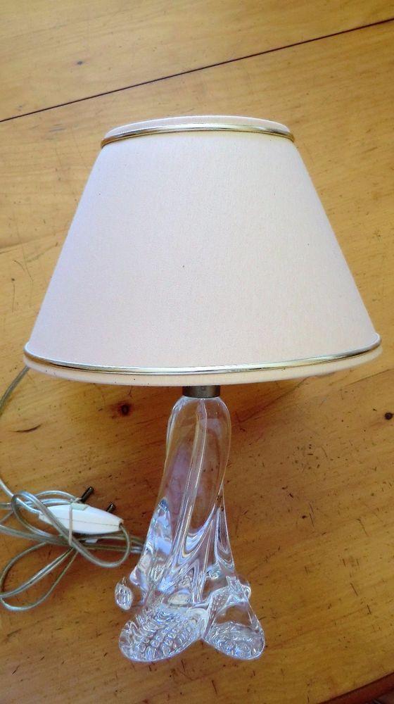 Lampe De Chevet Vintage Pied Cristal Art Antiquites Meubles Decoration Du Xxe Design Du Xxe Siecle Ebay Chevet Vintage Lampe De Chevet Chevet
