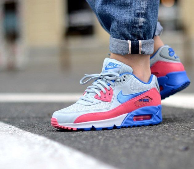 2015 Nike Air Max 2014 Cheap sale Hyper Pink Black Hyper Cobalt