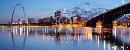 http://www.dollarphotoclub.com/stock-photo/City of St. Louis skyline./41560437 Dollar Photo Club millions of stock images for $1 each