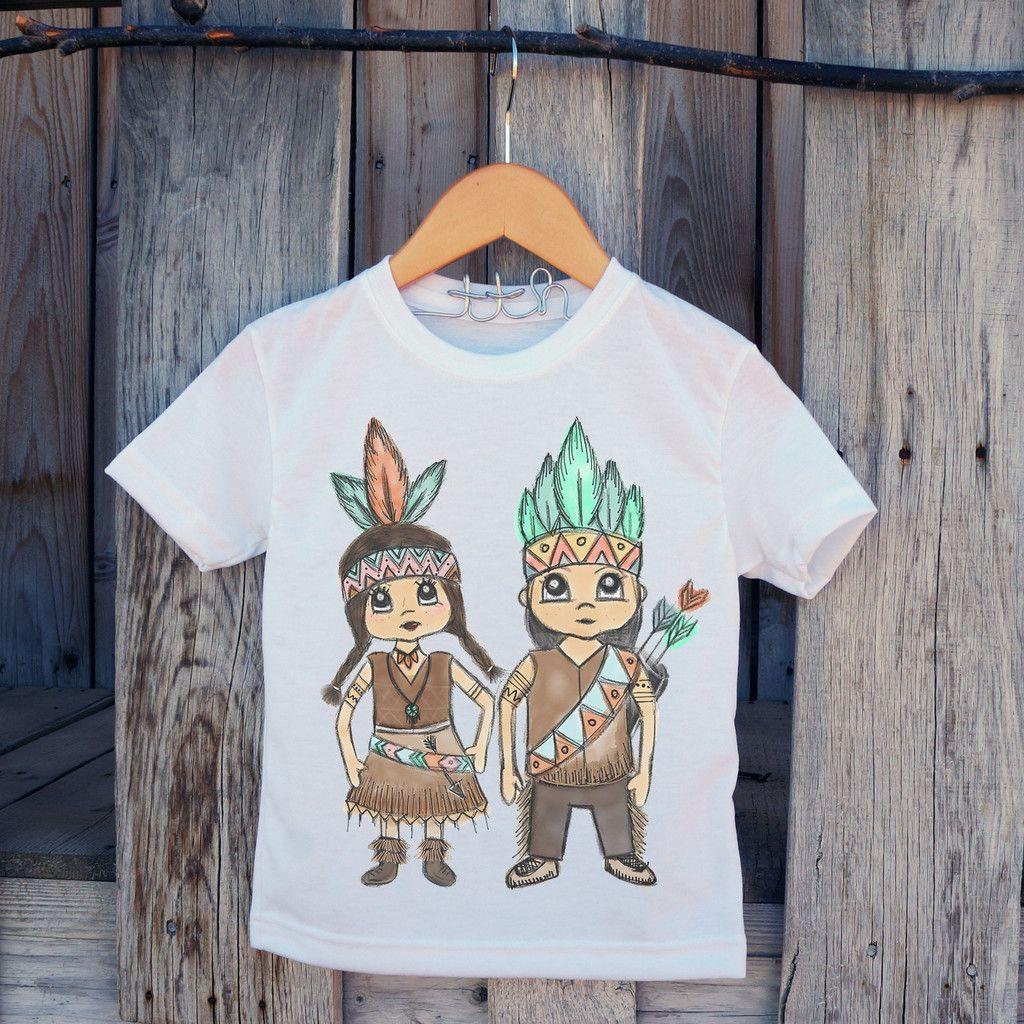 American Indian Kids Tee