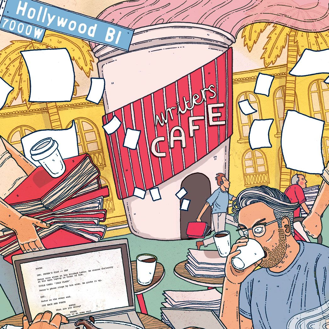 Hollywood Coffee Shops (for Screenwriters)