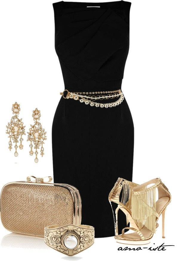Lbd W Gold Trendy Party Dresses Fashion Party Outfits For Women