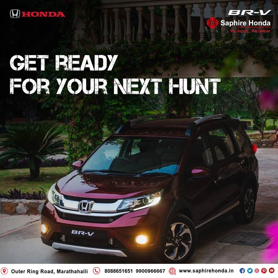 Be ready for life with the versatile Honda BRV