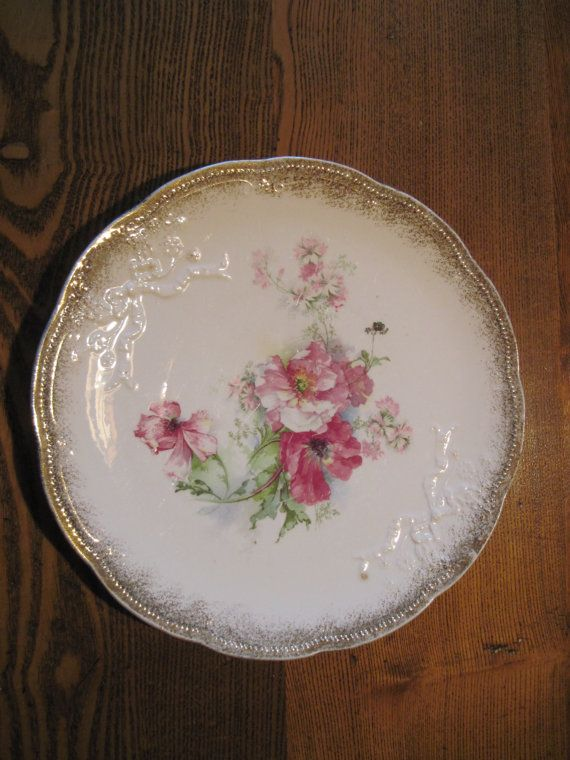 Vintage Plate Antique Cake Plate So Very Pretty by MyAlexasStore, $14.99