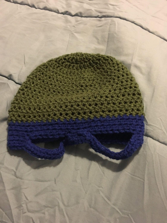 Teenage Mutant Ninja Turtles Crocheted Hat by illustratelaughlove on ...