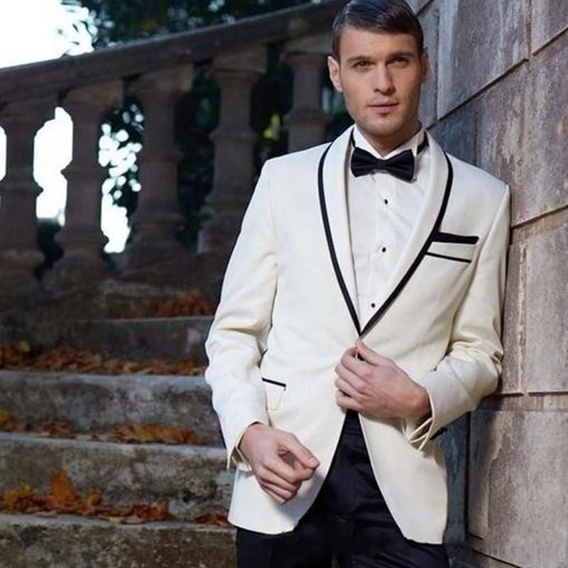 NoEnName_Null 2017 new Men Suits Wedding Tuxedos for Men Handsome ...
