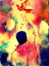 Pain Abstract Art