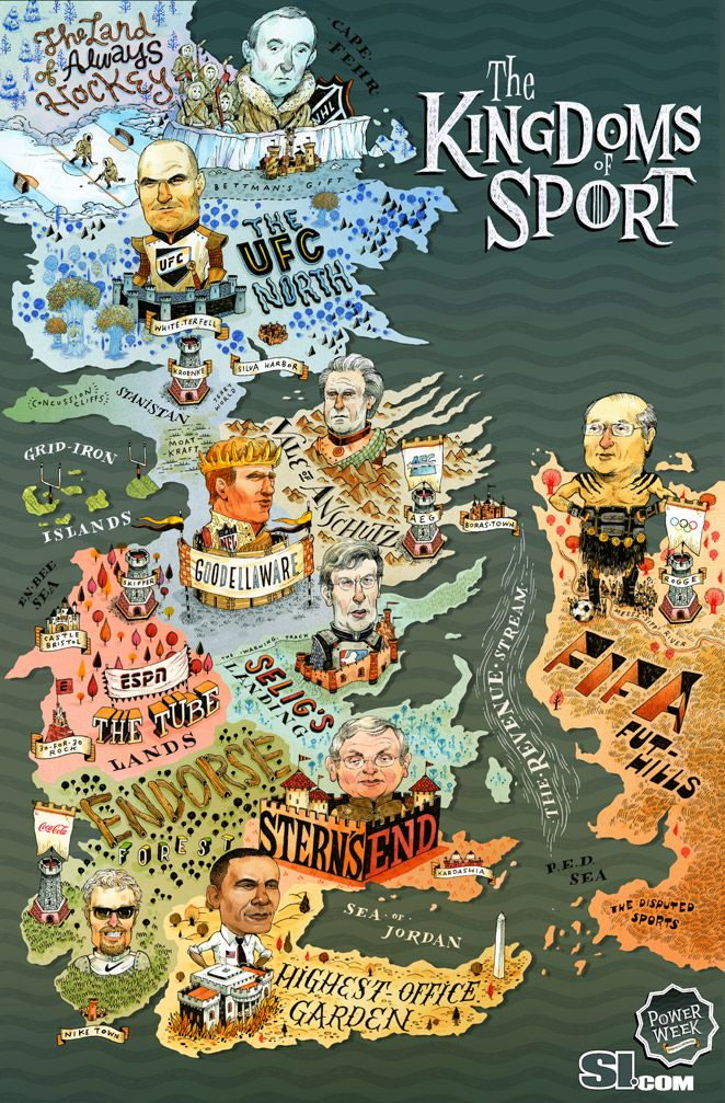 Sports illustrated game of thrones map kingdoms of sport maps explore game of thrones map sports illustrated and more gumiabroncs Image collections