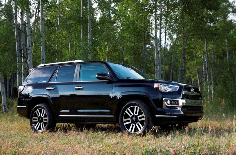 2014 Toyota 4 Runner Limited 30th Anniversary Edition (Black With Black  Leather)