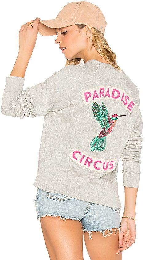 Sandrine Rose Embroidered Sweatshirt