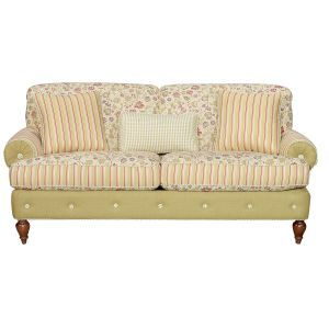80 Inch Floral Upholstered Sofa Upholstered Sofa Sofa Dream