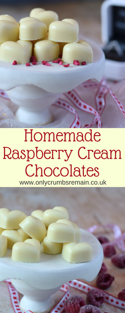 Photo of Homemade Raspberry Cream White Chocolates