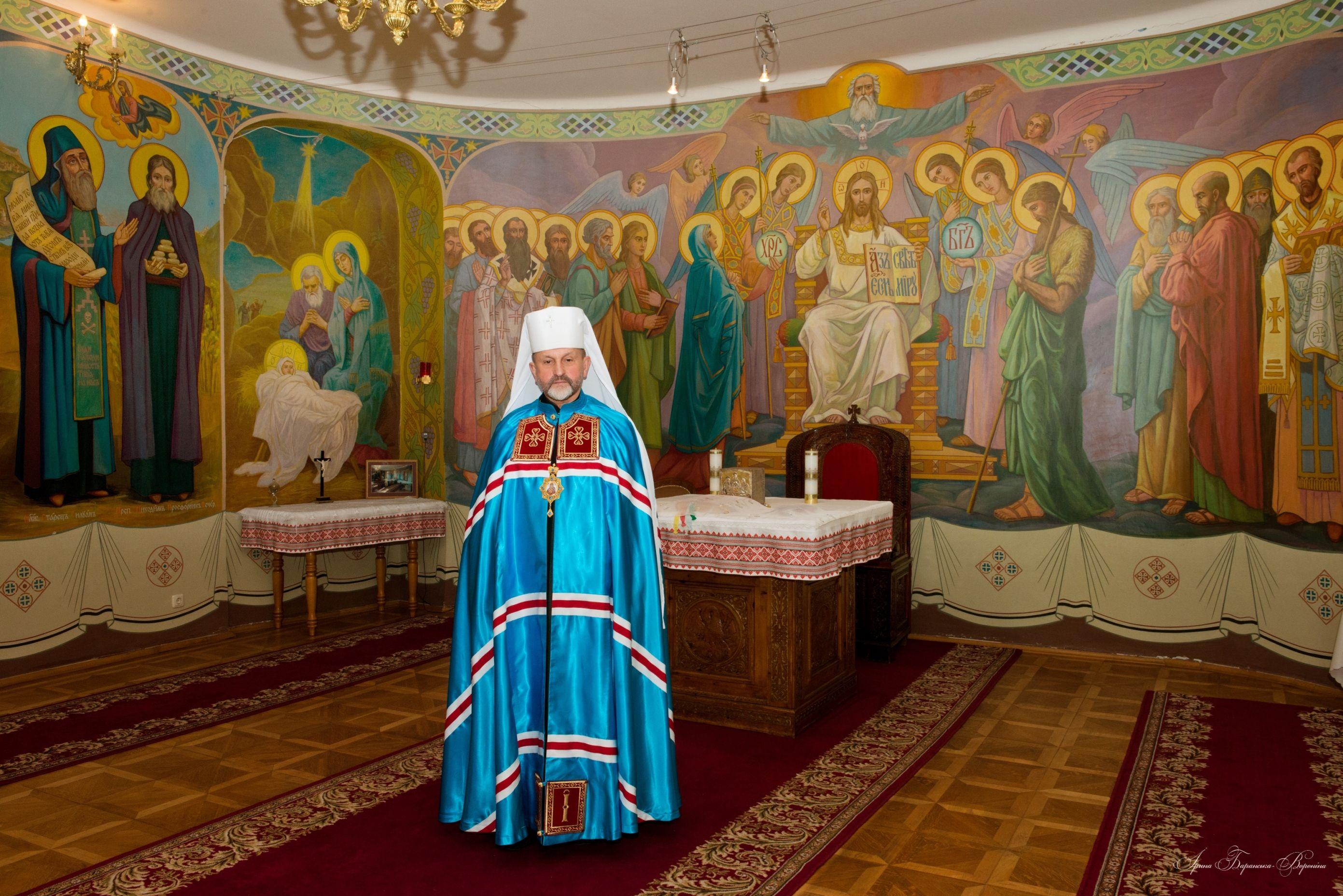 Щиро вітаємо Високопреосвященнішого владику Ігоря із 65-літтям!