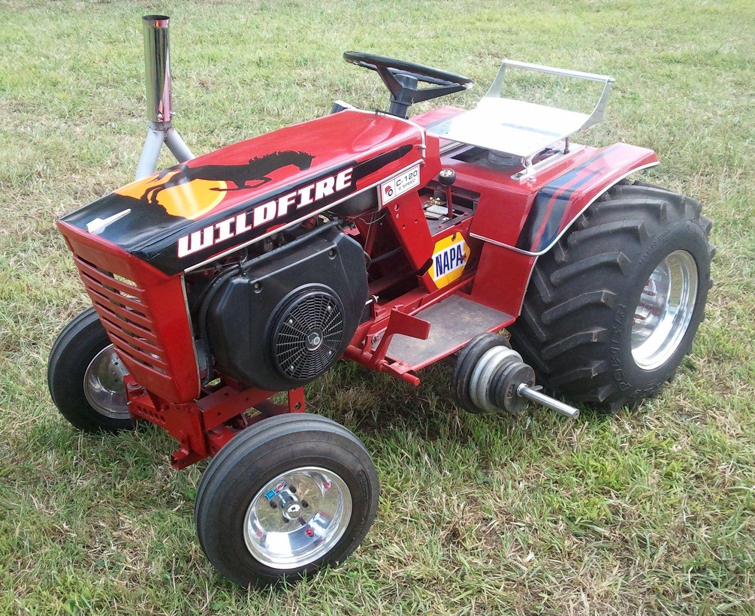 Custom Garden Tractor Wheels : Wheel horse puller garden tractor pulling eck