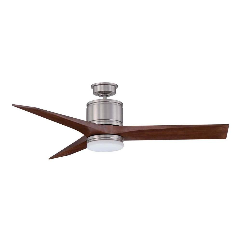 Designers choice collection woodstock in satin nickel ceiling