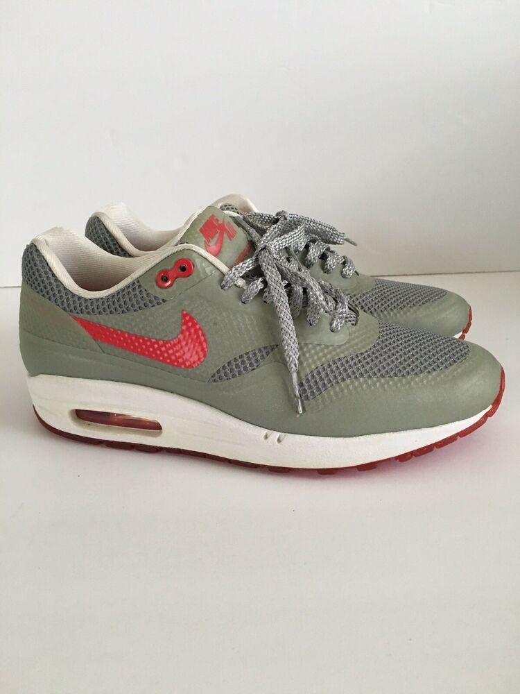 prix compétitif bb4d0 12431 NIKE AIR MAX 1 HYPERFUSE Women GREY/ RED SIZE 7 - Nike Airs ...