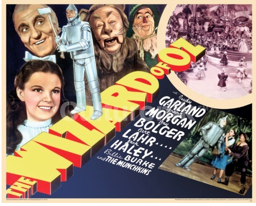 Wizard of Oz Cast Poster