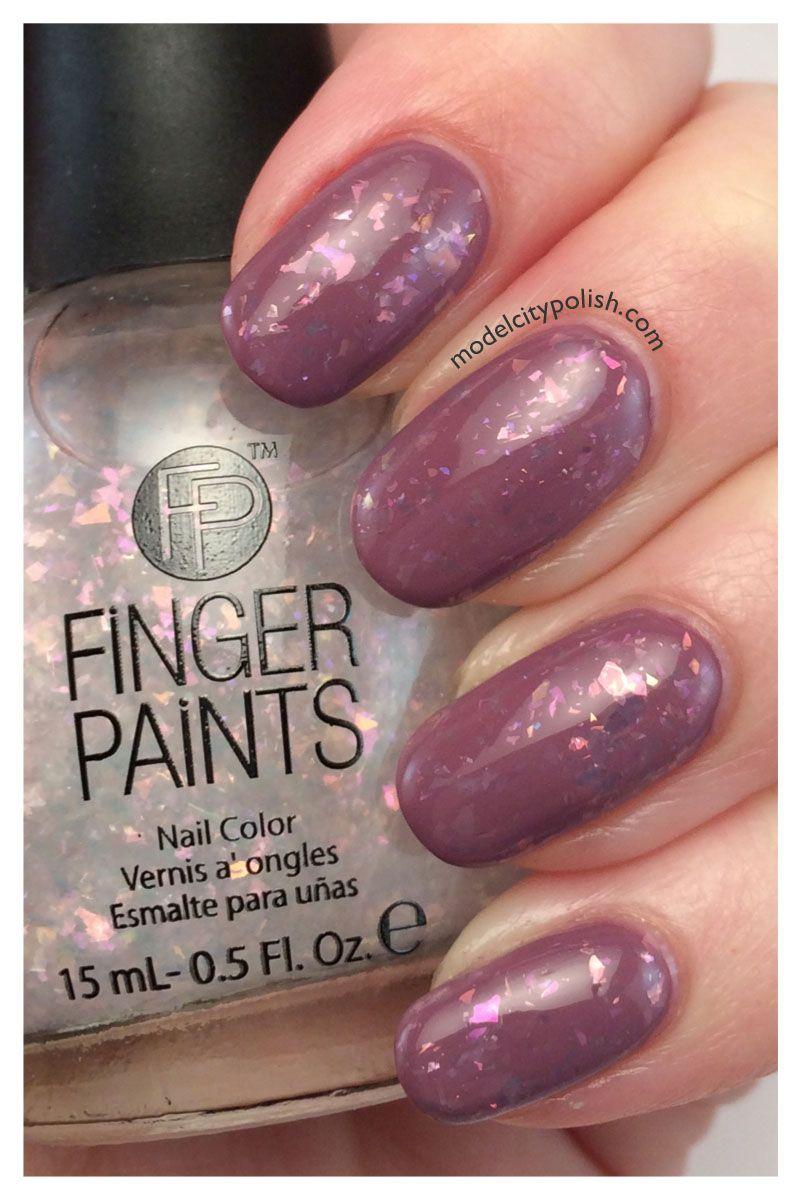 Finger Paints Vivid Reflection over Zoya Odette