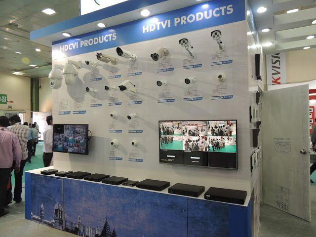 Hi Focus Cctv Camera Expo Stall At Chennai Trade Center Inside
