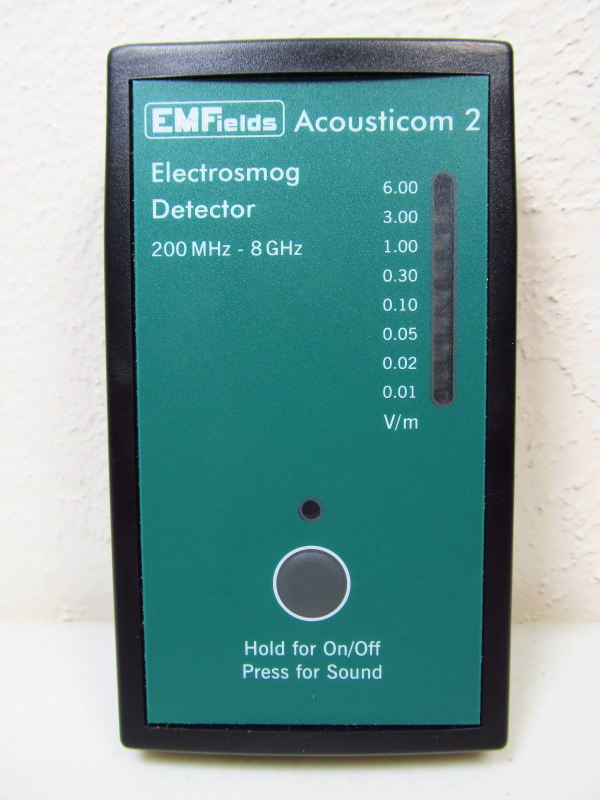 Acousticom 2 Rf Meter Radio Frequency Emf Protection Like The Small Size And Price