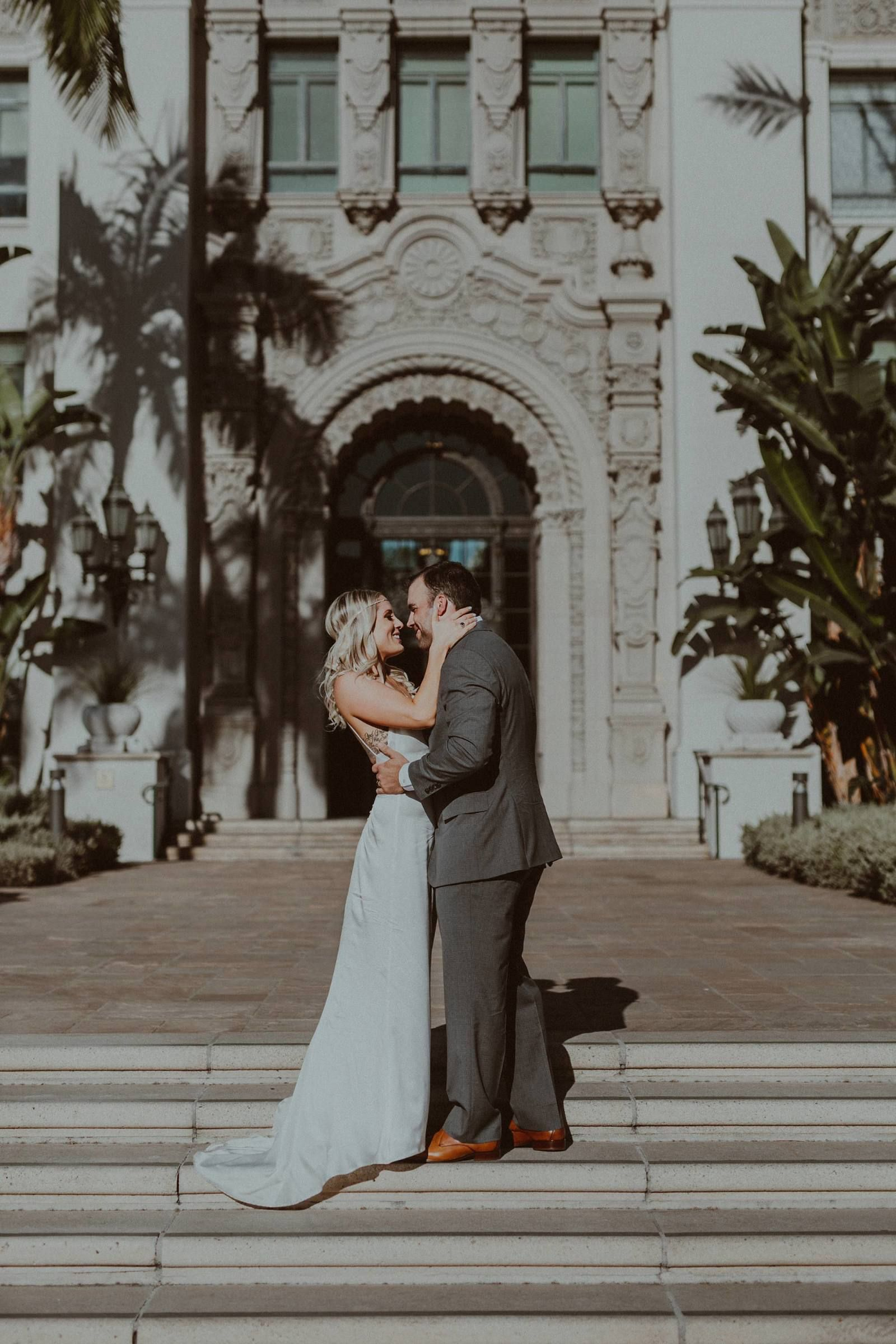 Beverly Hills Courthouse Elopement Beverly Hills Wedding
