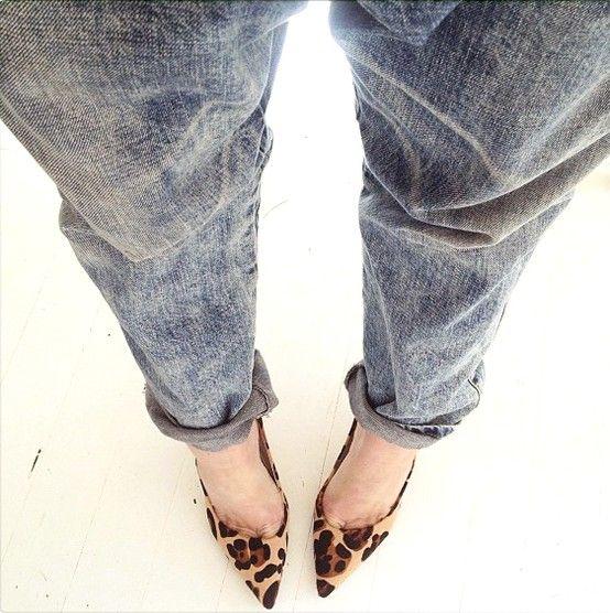 Wittner | Topper Leopard Heels