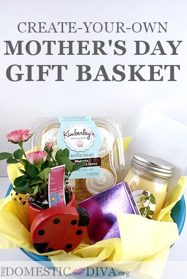 Mother's Day Gift Ideas: Create-Your-Own Gift Basket