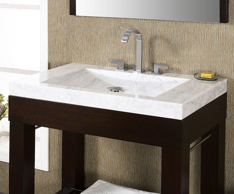 Vanity Tops With Integrated Sink Svt300wt 30 Stone Vanity Top