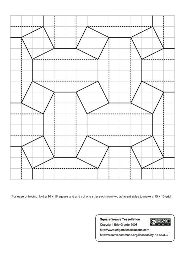 origami tessellations