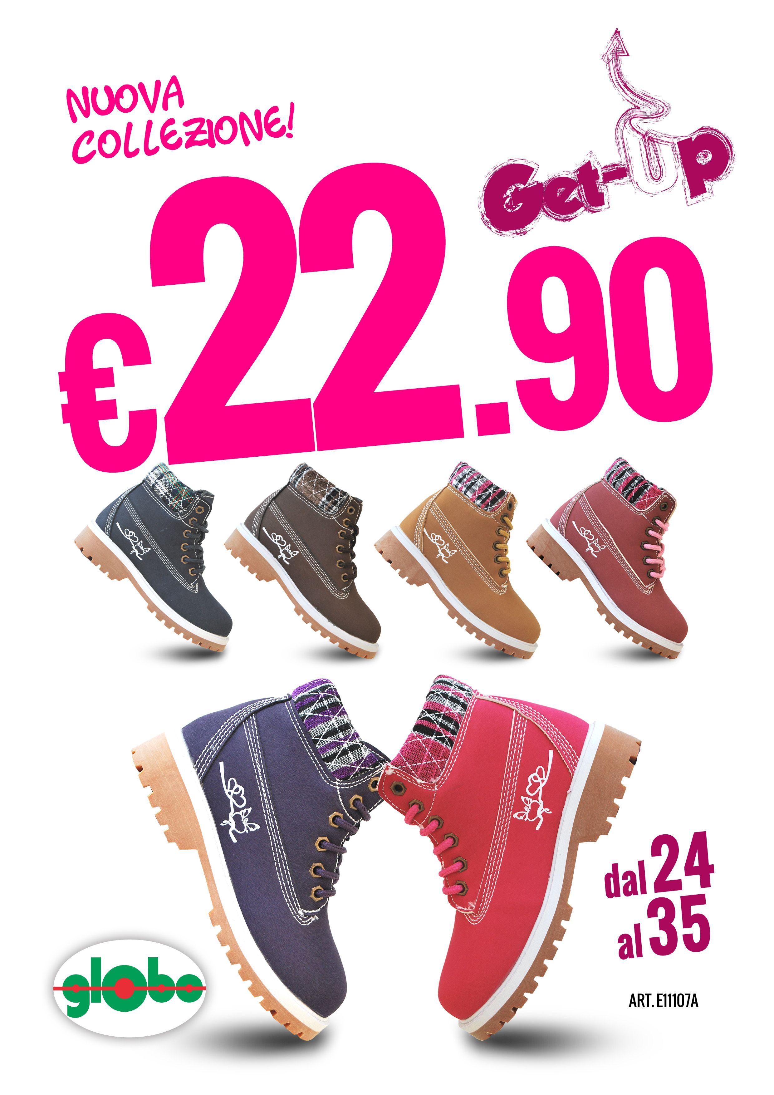 best sneakers b3402 cfc11 Nuovissime Get-Up Bimba a soli € 22,90!!!   Globo Calzature ...