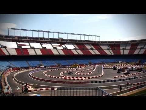Prueba neumático para la carrera en el Estadio de Madrid - Insights - Inside Racing - Ep.9