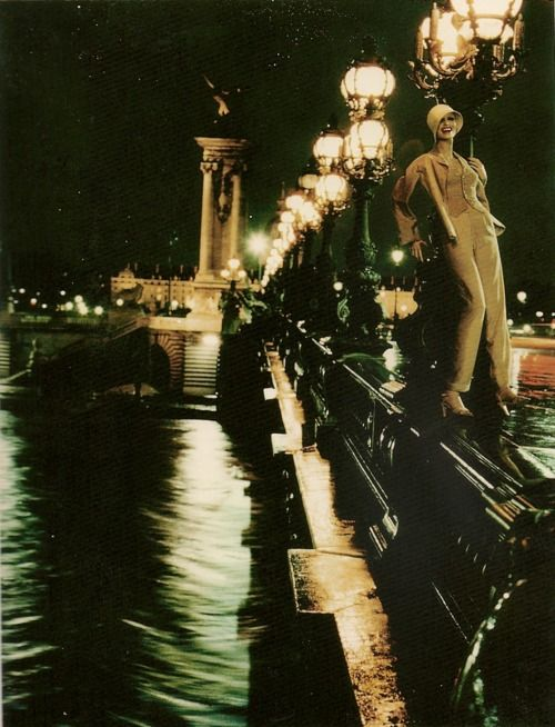 Photo: Helmut Newton, Paris, 1977. Love these photos with mannequins (look closely).