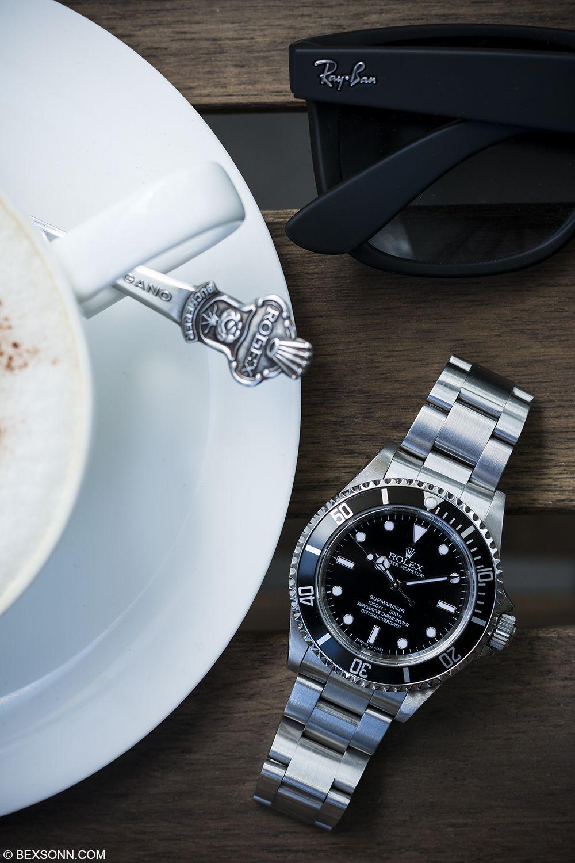 Essentials: #RayBans  a #Rolex