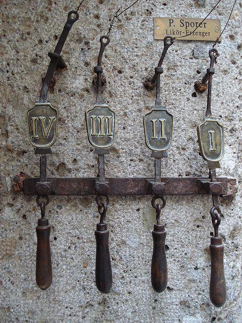 Door bells & old fashioned door bells | Doors Hardware and Door knobs