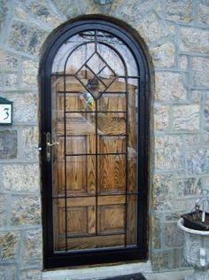 Superbe Security Doors, Safety Doors, Tempered Glass, Screens,storm Door, Locks, Round Top Doors, Arch Top Doors, Custom Doors, Dead Bolt, Bouble Cylander,  Round Top ...