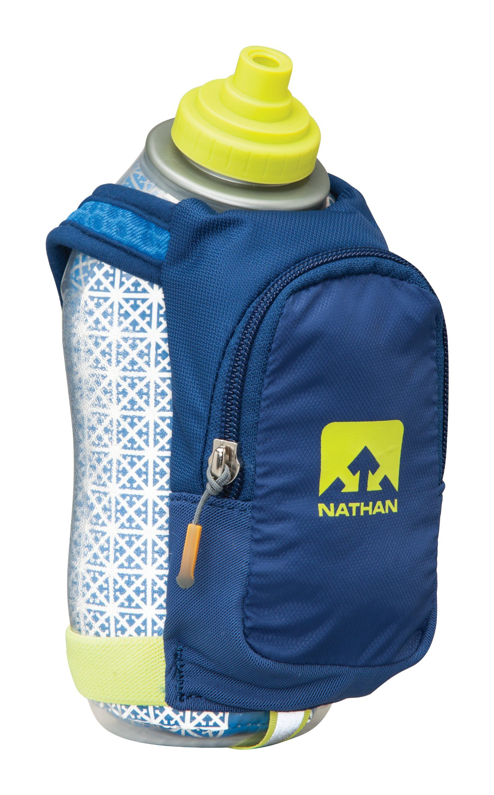 Amazon.com : Nathan SpeedDraw Plus Insulated Flask, Estate Blue, One Size : Sports & Outdoors