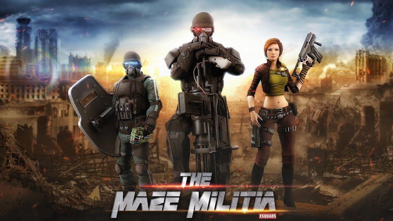 Descargar Mazemilitia Lan Juego De Disparos Multijugador En Linea