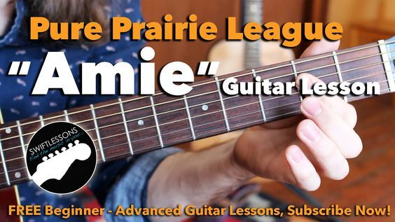 Pure Prairie League Amie Intro Solo Major Lead Guitar Lesson