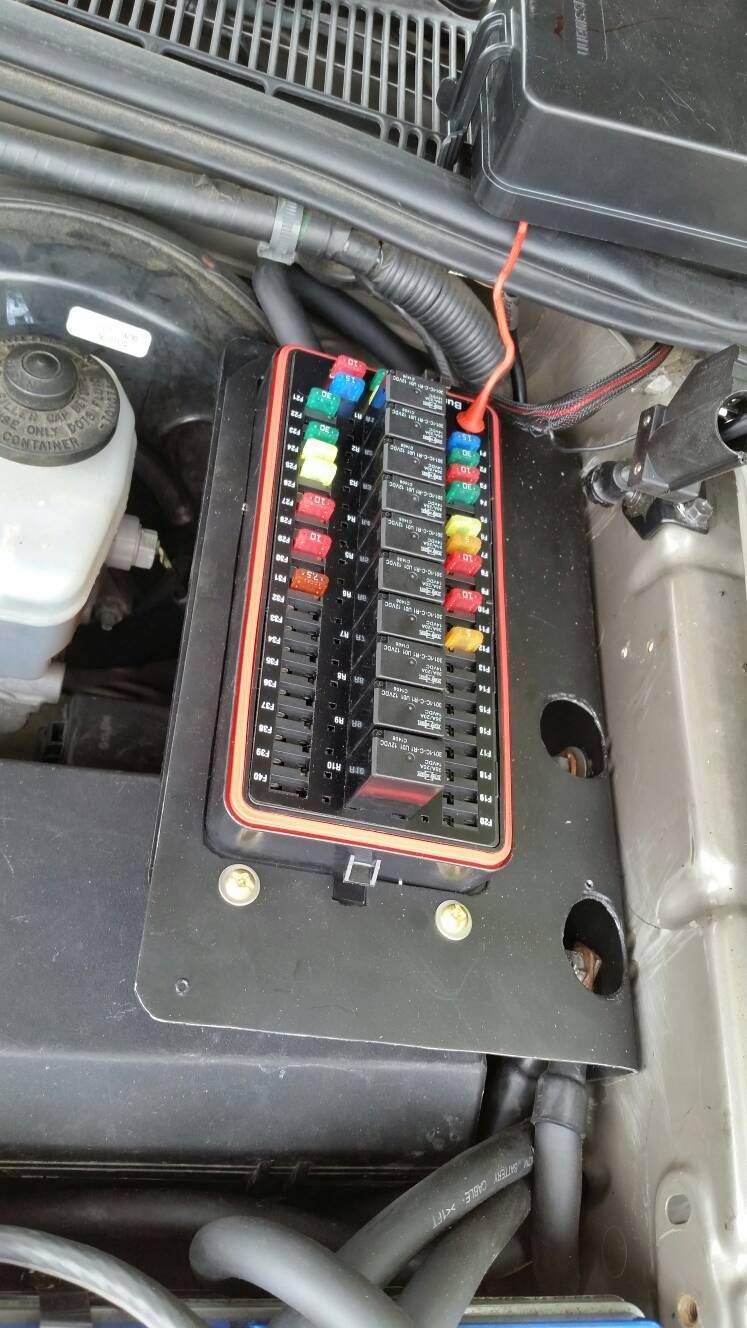 Waterproof Fuse And Relay Boxes Rfrm 10 Rtmr 5 Street Rod Box Under Hood No Blue Sea Spod Tacoma World Forums