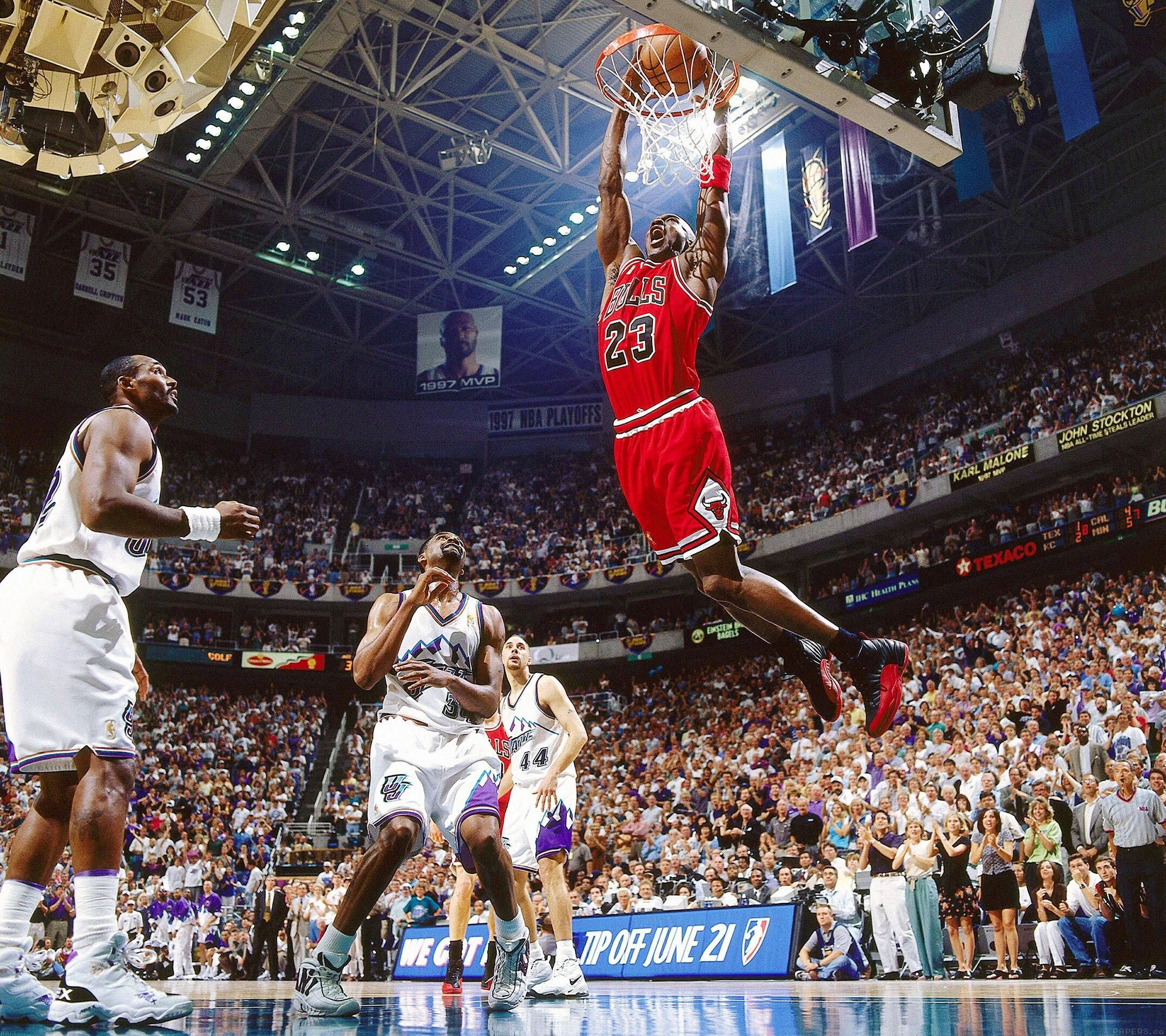 Nba Finals Michael Jordan Dunk Michael Jordan Nba Finals Sports Theme