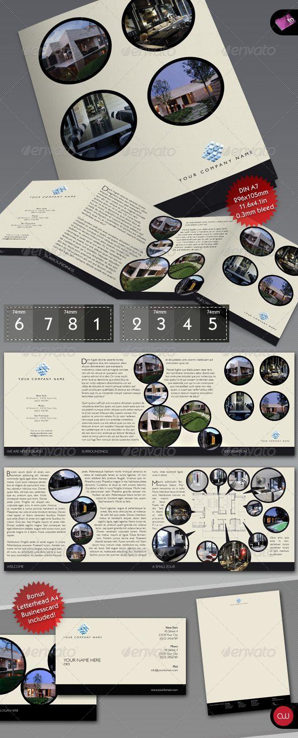 4 fold brochure bulls eye
