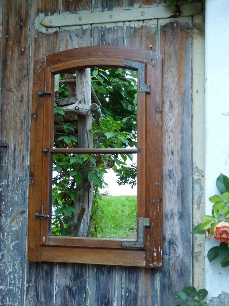 Vintage Fenster Spiegel By Lybste Badmoebel.de