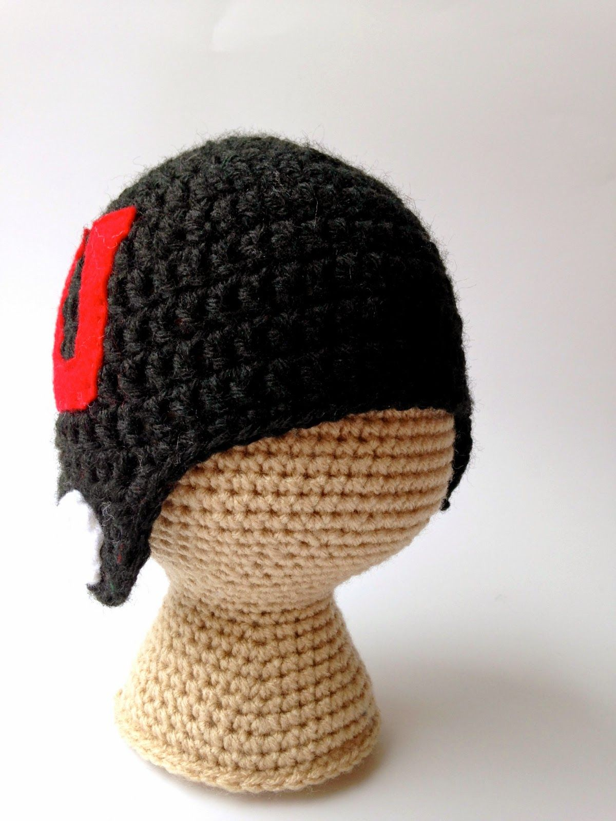 Crochet Football Helmet Hat Pattern Free