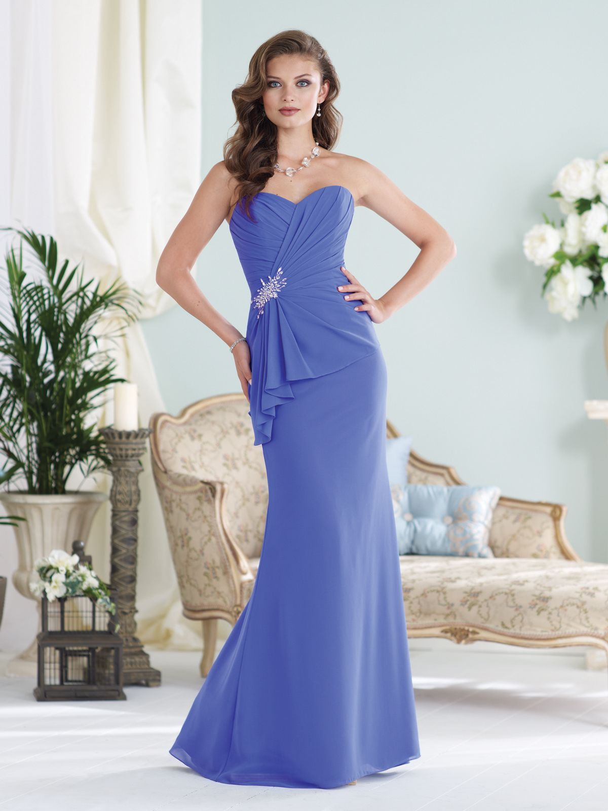 Strapless chiffon slim a line gown with sweetheart neckline strapless satin with beadings long bridesmaid dresses bridesmaid dresses bridesmaid dresses weddings cddress ombrellifo Image collections