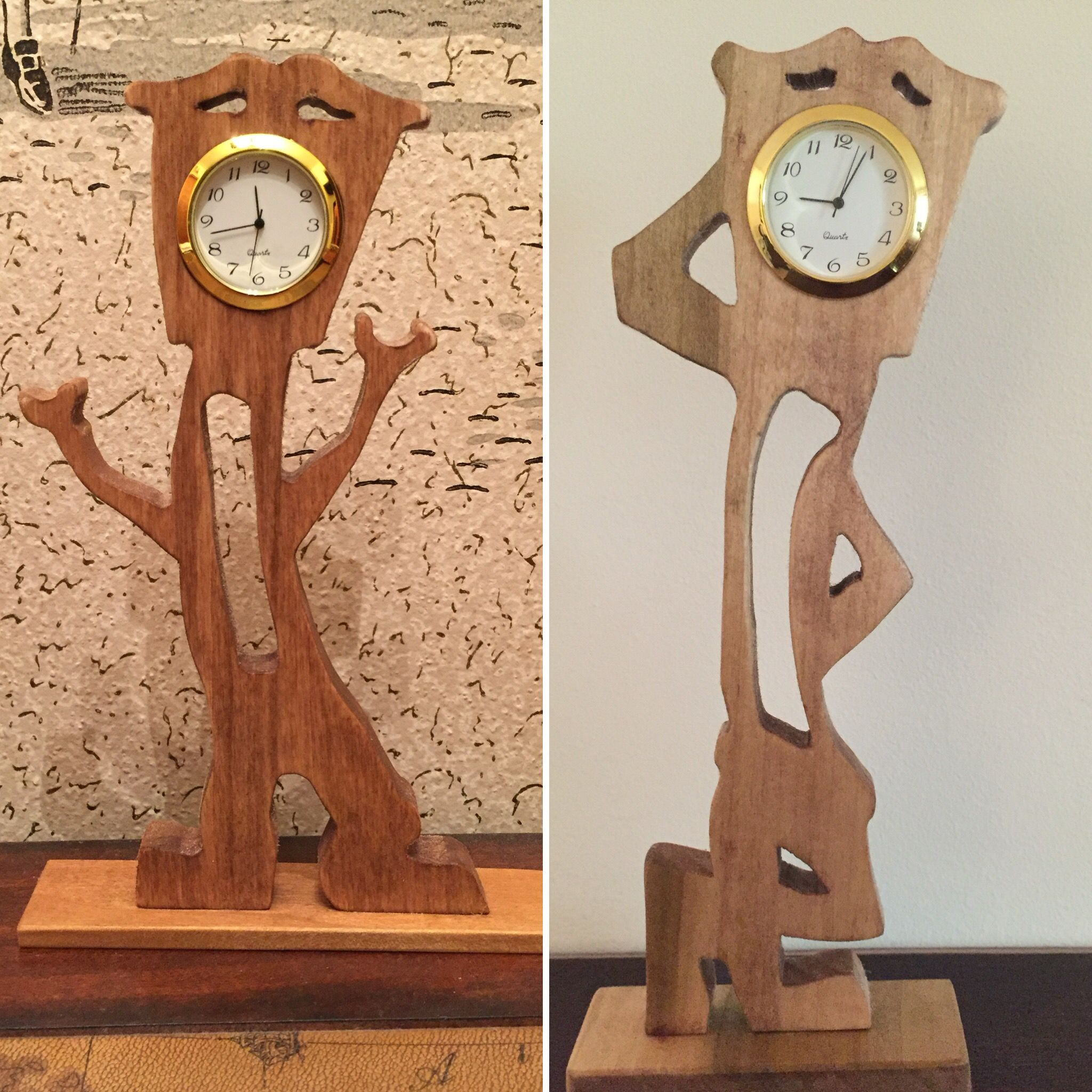 Pin by PaPaTink on PaPaTinks Toys | Wooden clock, Wood ...